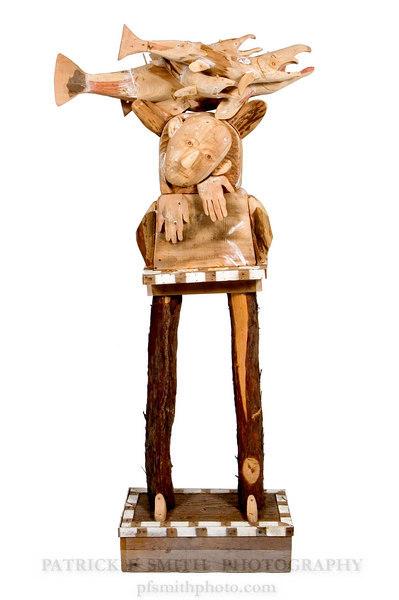 Rick Bartow Artist Back Veiw
