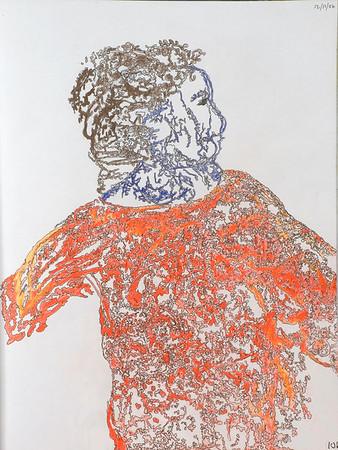010 woman in orange