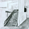 004 charcoal stairway