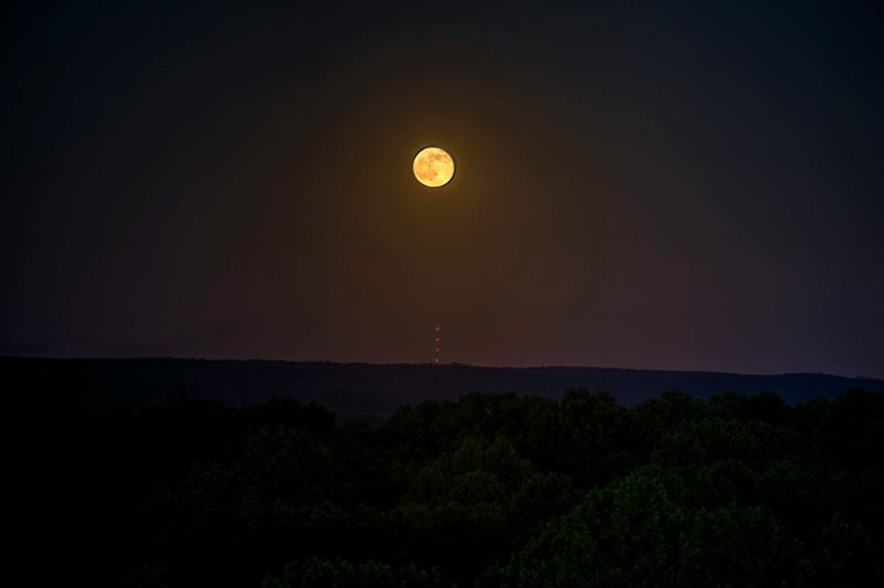 Moonrise over Indiana