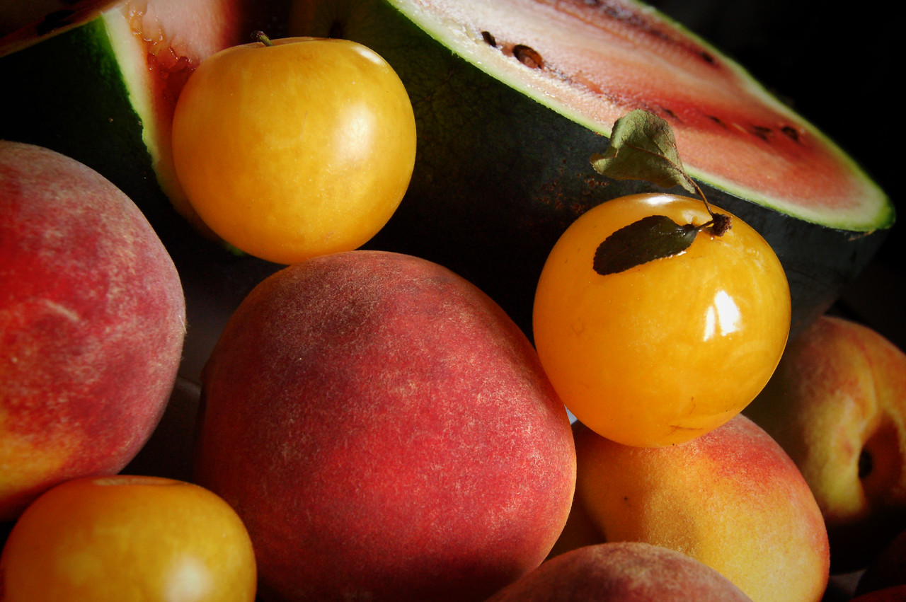 Plums, Peaches, and a Sugar Baby