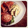 'The Pandora' burger & the best sweet potato fries ever