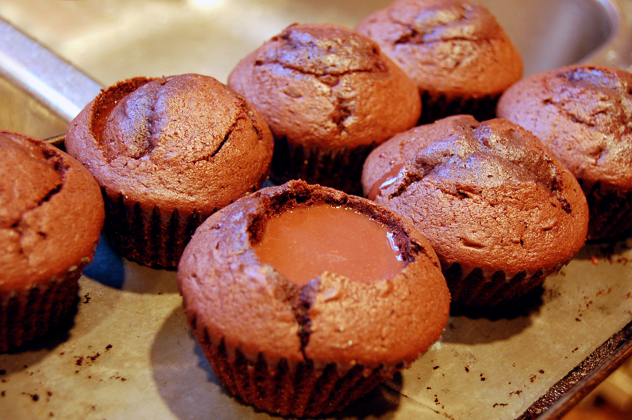 Cupcakes with Pudding