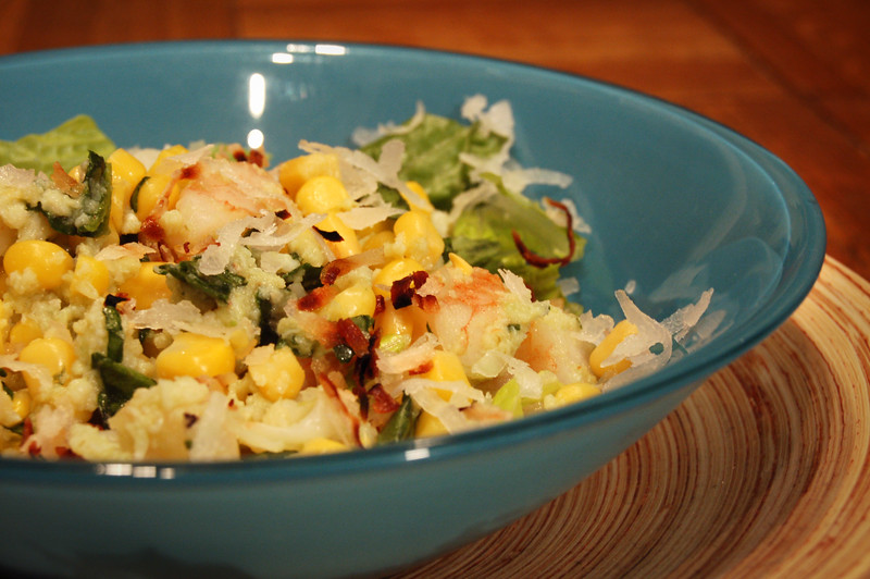 2nd Course: Seafood Coconut Salad