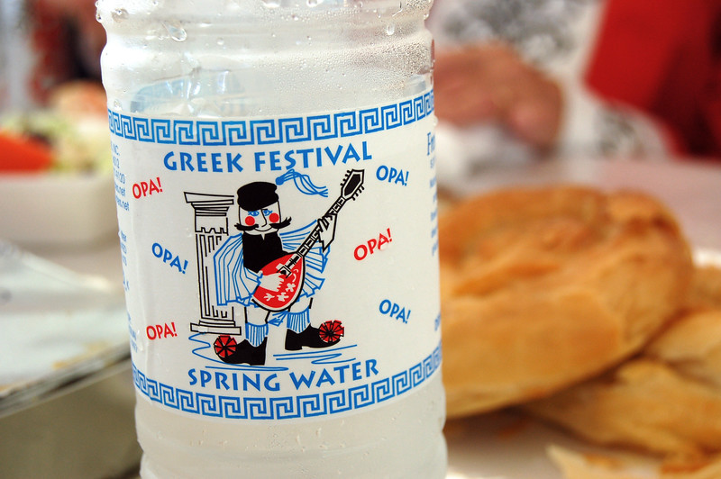 Bottled Festival Water