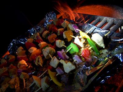 Grilling Shish-Ka-Bobs