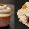 Peanut Butter and Jelly Mini Cupcake