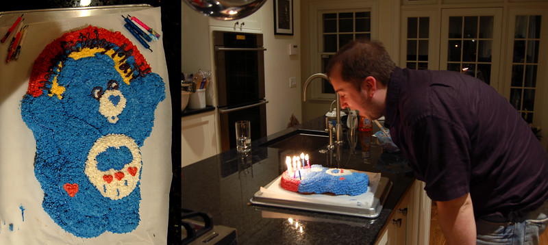 Care Bear Birthday Cake!