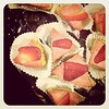Strawberry Kiwi Raw Cheesecake