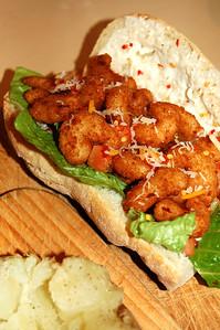 Popcorn Shrimp Sammich