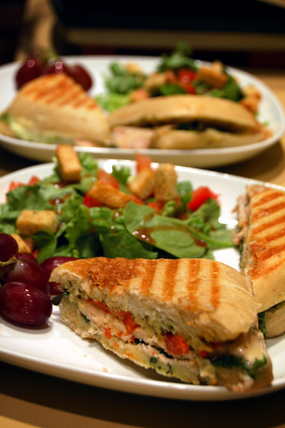 Paninis for my Parents