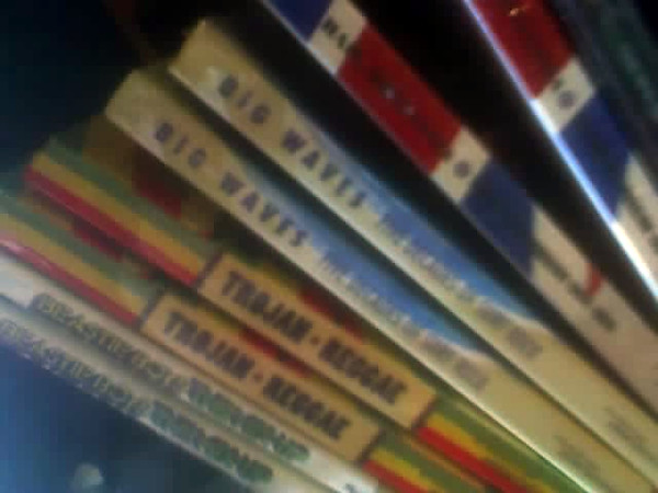 Colorful CD Spines