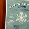 """Winter Guide 2009"" Retail Flyer"