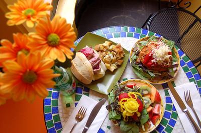 Sandwiches at Orange Glory