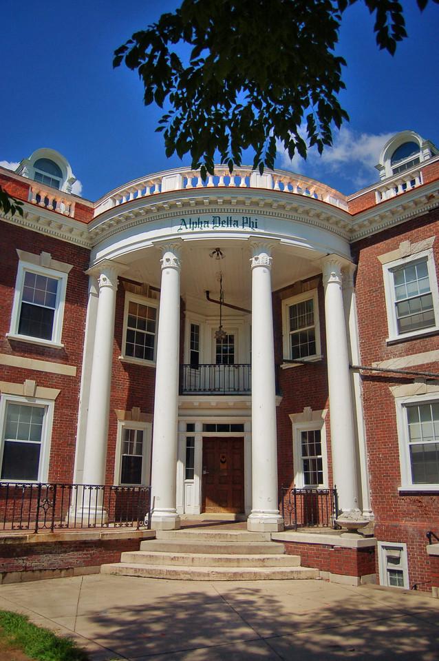 University of Rochester Greek Row
