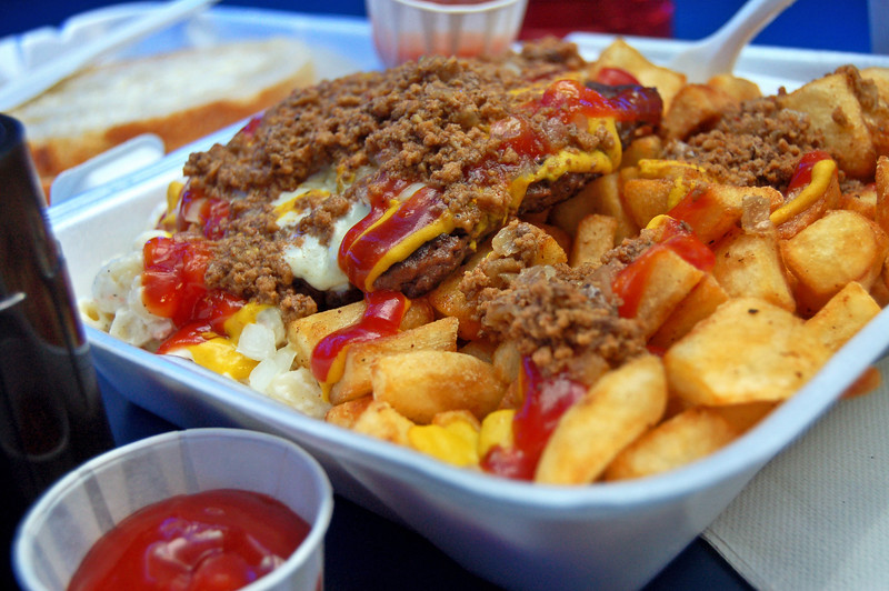 Wimpy's Garbage Plate