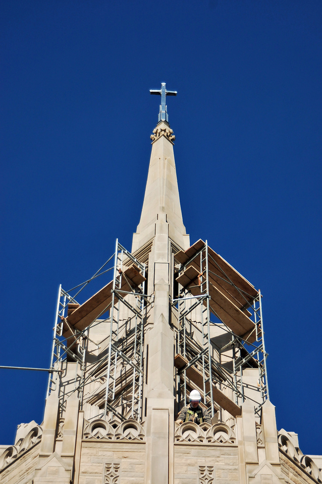 Asbury Church Steeple