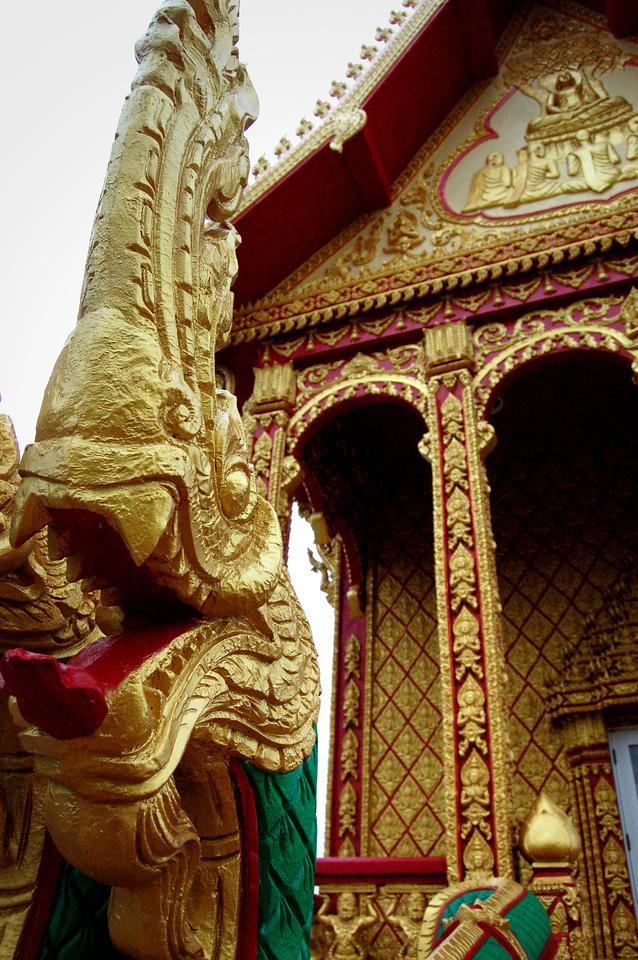 WAT LAO Temple - Statue