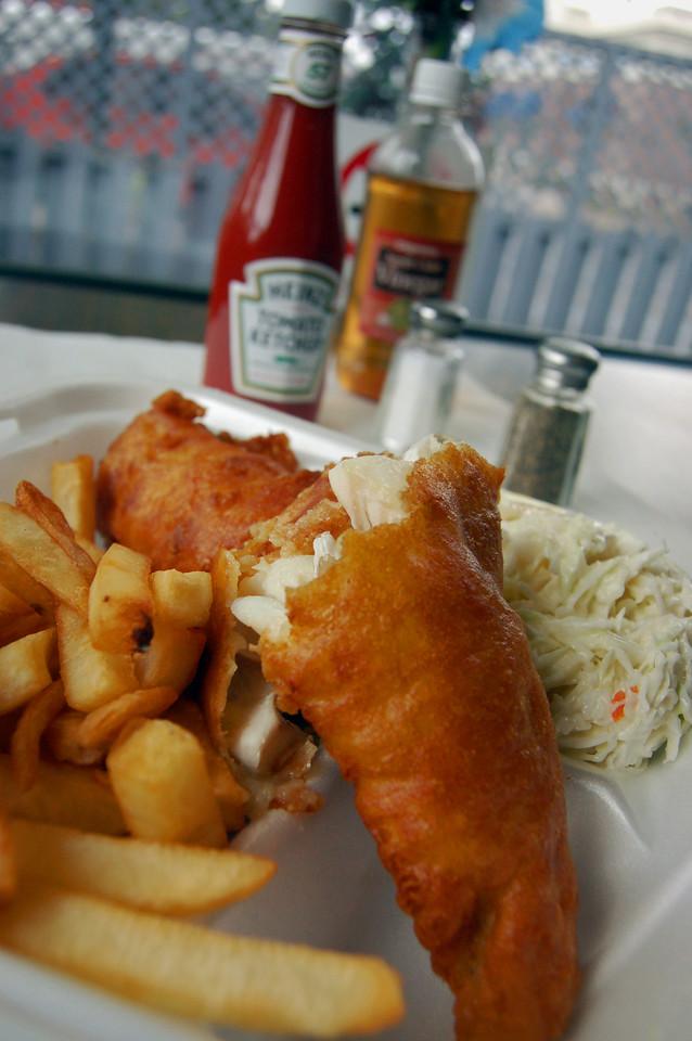 Fish Fry at Captain Jim's