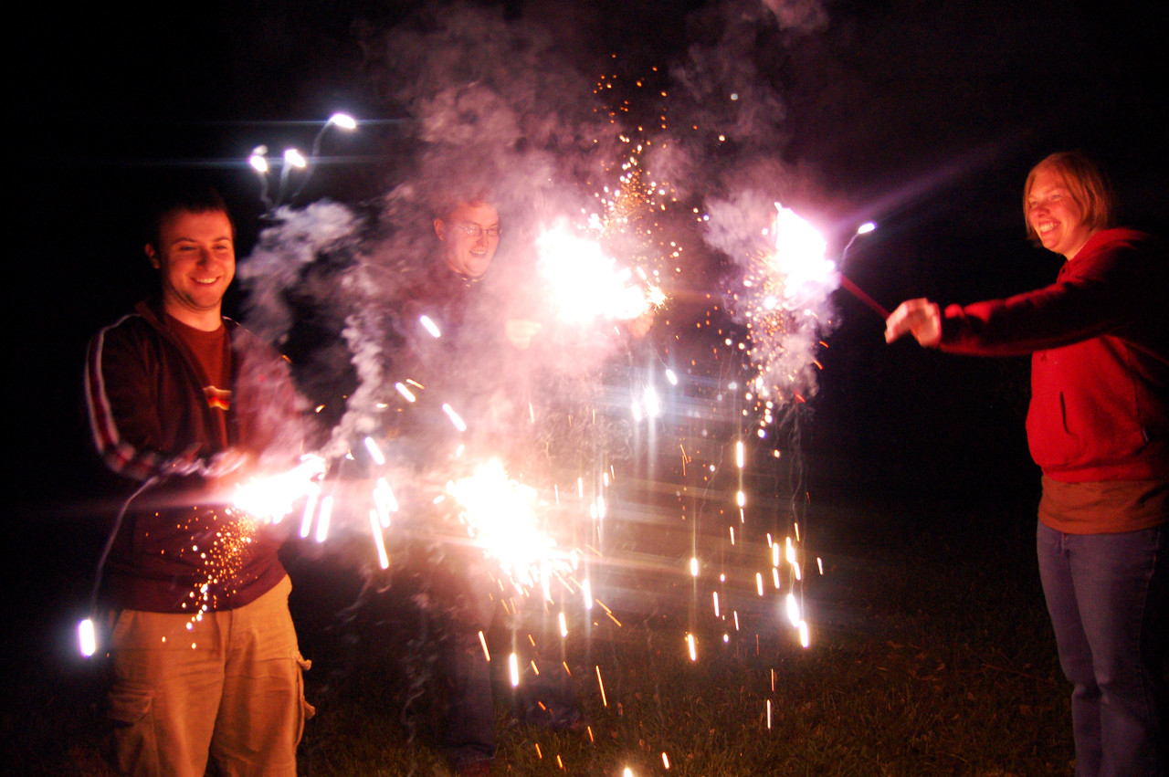 More Sparklers!