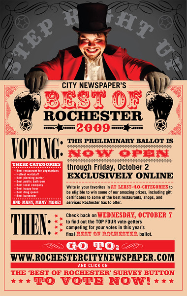 """""""Best Of"""" Primary Voting Poster"""