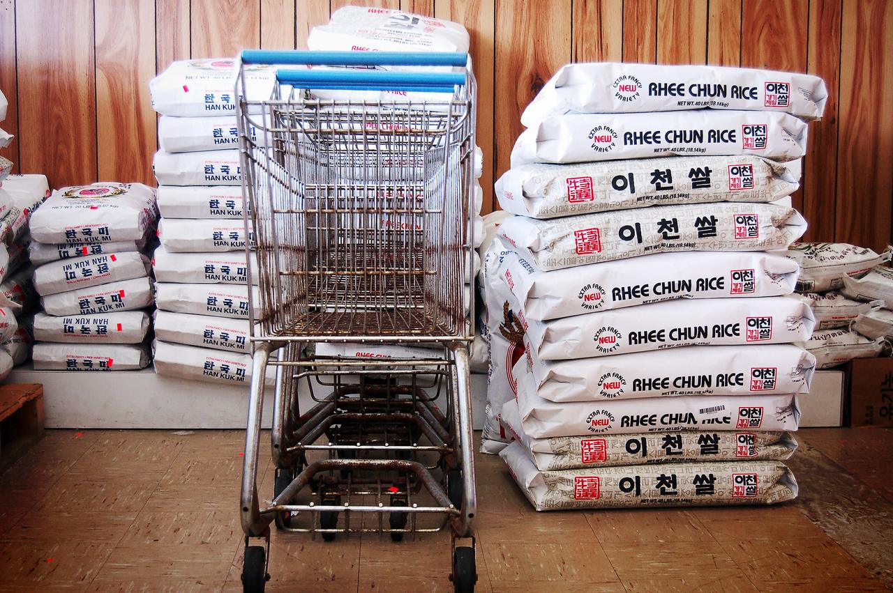 Carts & Rice