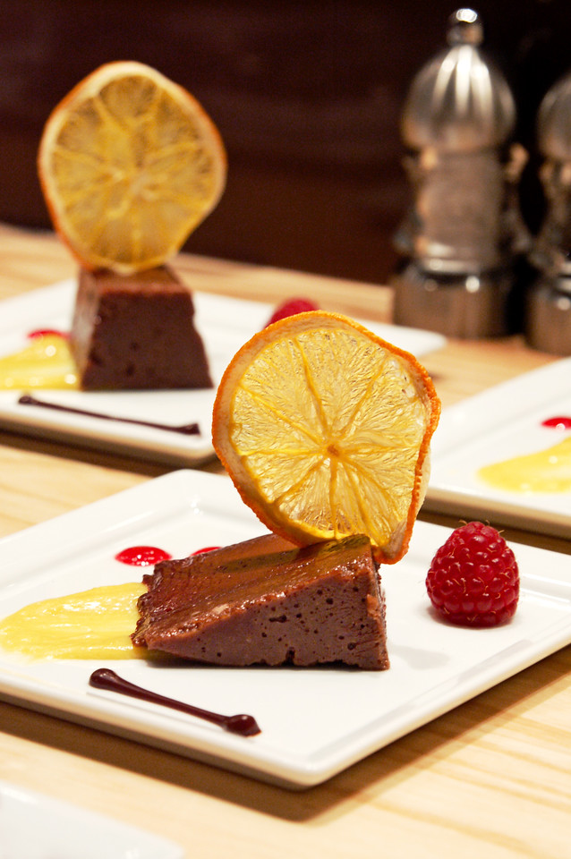 Chocolate and citrus