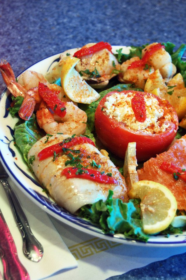 Broiled Seafood Combo