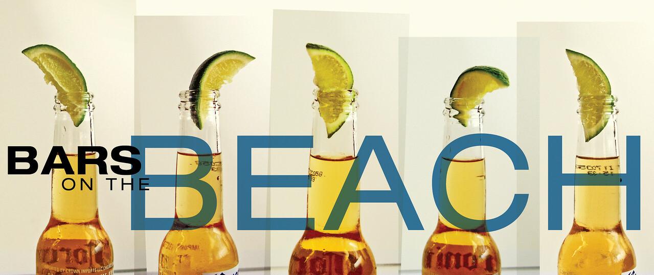 """""""Bars on the Beach"""" Header"""