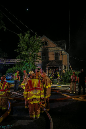 Structure Fire on High Street, Village of Cold Spring, 7-7-14