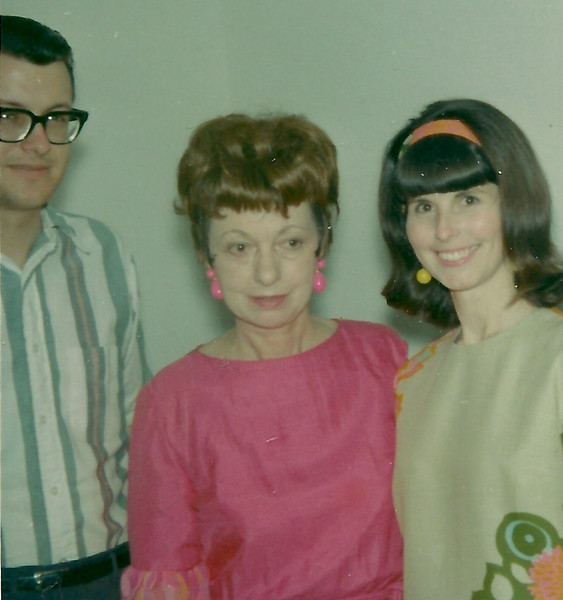 Steve, Mom (Lucile) and Elaine at my home in Burnsville, MN