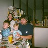 Steve and grandkids ... Sean Megan Erin