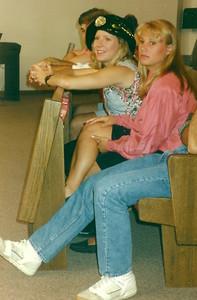 Kristine and Lynne
