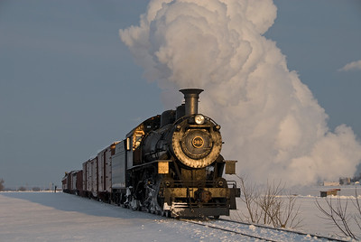 Strasburg Rail Road; Strasburg, Pennsylvania; February 13, 2010
