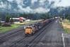 Photo 4598<br /> Union Pacific<br /> Oakridge, Oregon<br /> June 12, 1997