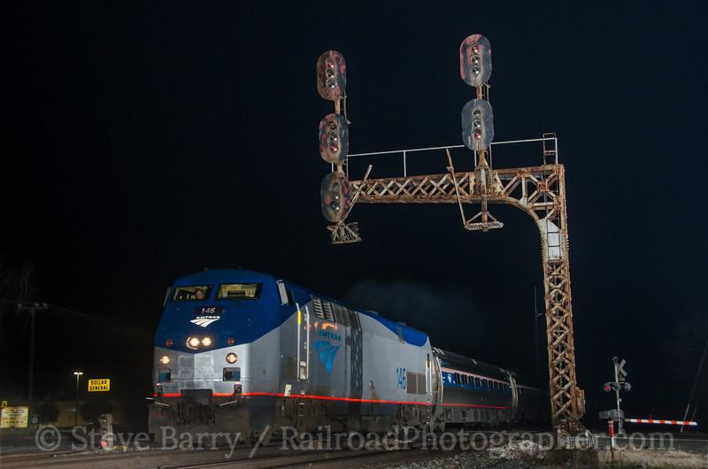 Photo 2559<br /> Amtrak; Lee Hall, Virginia<br /> January 13, 2013