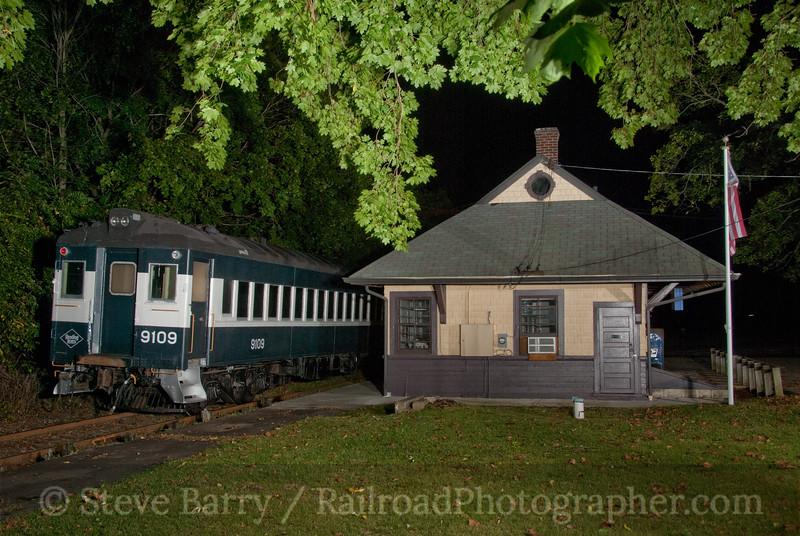 Photo 1918<br /> West Chester Railroad; Cheyney, Pennsylvania<br /> October 1, 2010