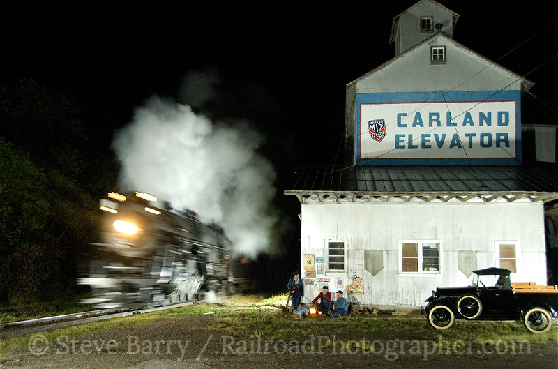 Photo 1611<br /> Nickel Plate Road 765; Carland, Michigan<br /> August 29, 2009