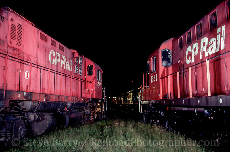 Photo 2208<br /> CP Rail; Sherbrooke, Quebec<br /> July 7, 1996