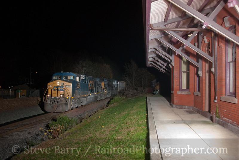 Photo 1955<br /> CSX Transportation; Hopewell, New Jersey<br /> November 15, 2010