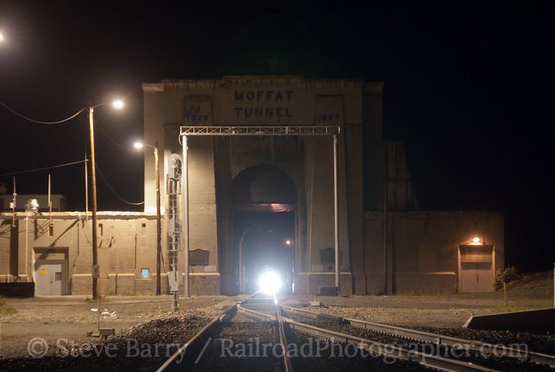 Photo 2242<br /> Union Pacific; Moffat Tunnel, Rollinsville, Colorado<br /> September 25, 2011