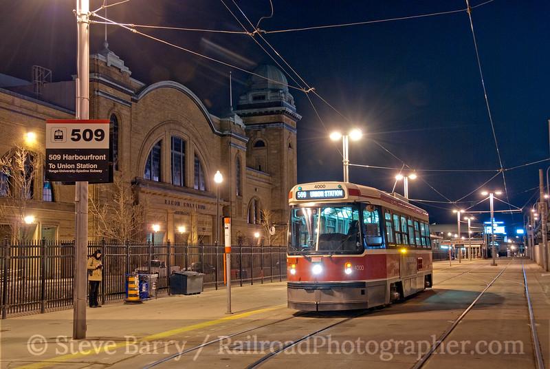 Photo 1849<br /> Toronto Transit Commission; Exhibition Loop, Toronto, Ontario<br /> April 17, 2010