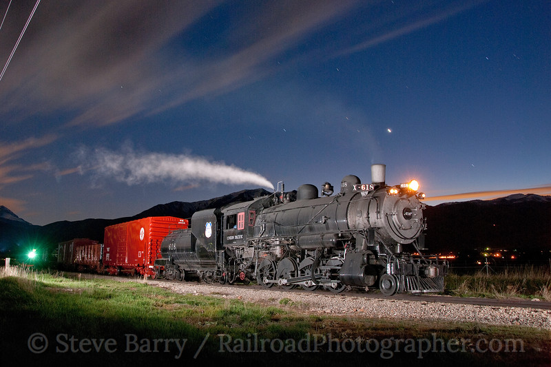 Photo 1882<br /> Union Pacific 618; Heber City, Utah<br /> May 20, 2010