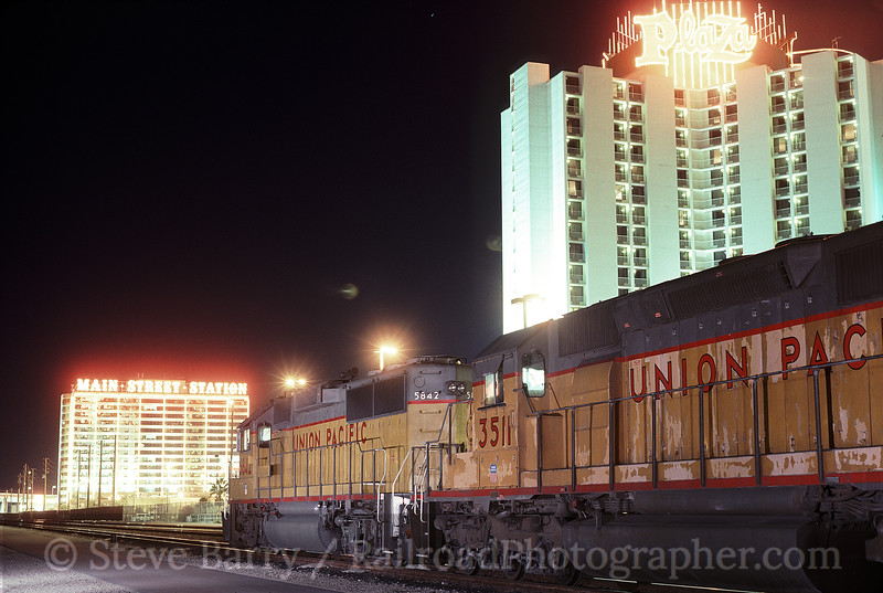 Photo 1404<br /> Union Pacific; Las Vegas, Nevada