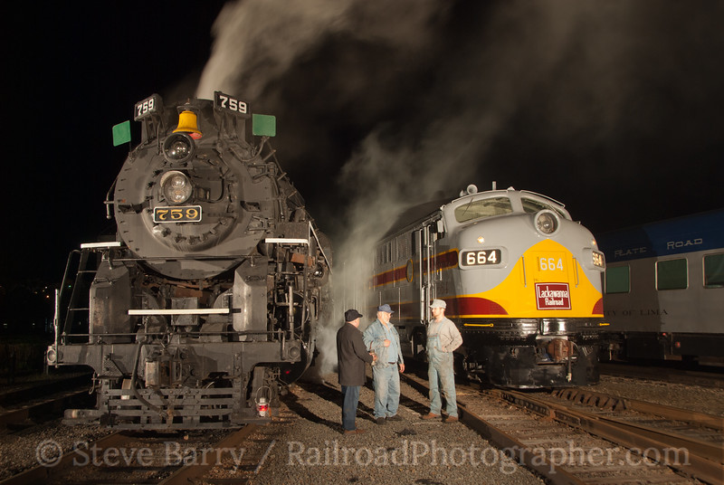 Photo 2070<br /> Steamtown National Historic Site; Scranton, Pennsylvania<br /> April 30, 2011