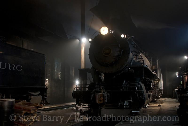 Photo 1785<br /> Strasburg Rail Road; Strasburg, Pennsylvania<br /> February 13, 2010