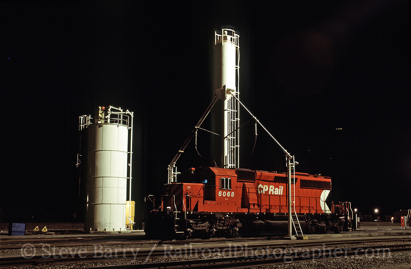 Photo 1322<br /> CP Rail; Golden, British Columbia<br /> September 1988