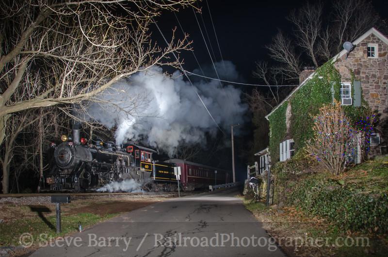 Photo 2506<br /> New Hope & Ivyland; Hood (New Hope), Pennsylvania<br /> December 15, 2012