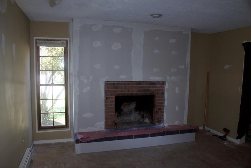 Fireplace Makeover - hilltopperdad
