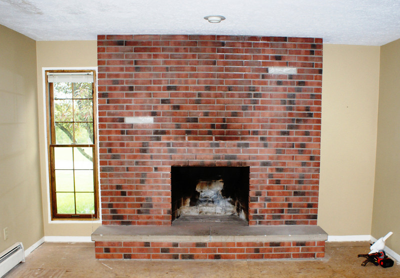 Fireplace Makeover - hilltopperdad